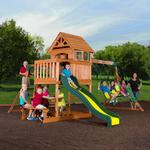 Backyard Discovery Springboro Wood Swing Set