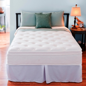 Night Therapy 12 Inch Spring Mattress Complete Set Full