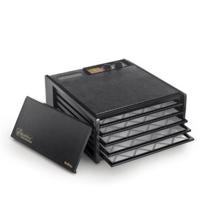 Excalibur 3526TB Excalibur 3526TB 5 Tray Dehydrator with Timer Black, 1, Black