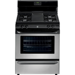 Kenmore 4.2 cu. ft. Freestanding Gas Range w/ Broil & Serve™ Drawer - Stainless Steel