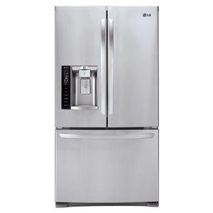 LG 27 cu. ft. French Door Bottom-Freezer Refrigerator - Stainless Steel