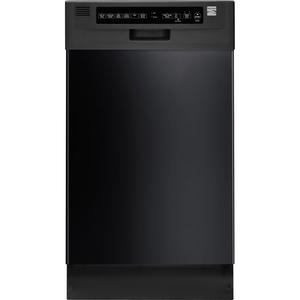 "Kenmore 18"" Built-In Dishwasher - Black"