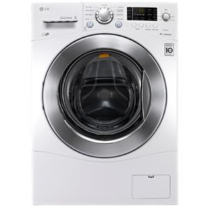 """LG 2.3 cu.ft. Large 24"""" Compact Frontload Washer"""