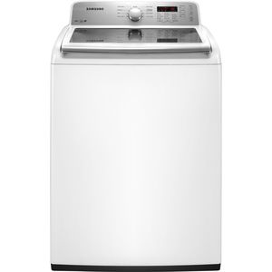 Samsung 4.2 cu. ft. High-Efficiency Top-Load Washer - White