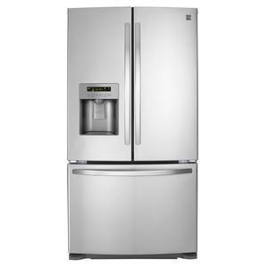 Kenmore 24 cu. ft. French Door Bottom-Freezer Refrigerator - Stainless Steel