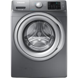 Samsung 4.2 cu. ft. Front-Load Washer w/ Steam Washing - Stainless Platinum