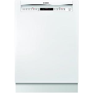 """Bosch 24"""" 800 Series Built-In Dishwasher - White"""