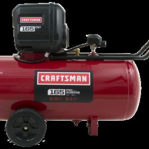 Craftsman 33 Gallon Horizontal Air Compressor 165 Max PSI