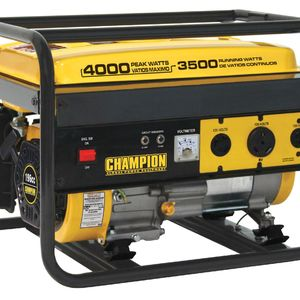 Champion Power Equipment 46533 3500/4000 Watt Portable Gas Generator RV Ready CARB