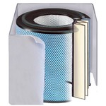 Austin Air - Allergy HEGA Filter Replacement with White Pre-Filter