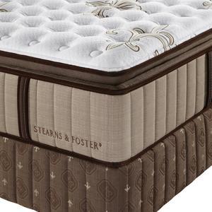 Stearns & Foster Estate Walnut Grove Luxury Firm Euro Pillowtop, Queen Mattress Only