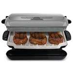 George Foreman Removable Plate 5 Serving Multi-Plate Evolve Grill