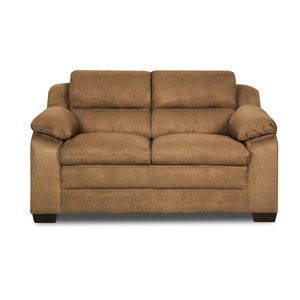 Simmons Upholstery Bixby Pillow-Top Loveseat Only - Latte