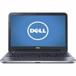 """Dell 15.6"""" Inspirion Touchscreen Laptop with Intel Core i5 Processor, 6 GB Memory, 1 TB Hard Drive and Windows 8.1 - Silver"""