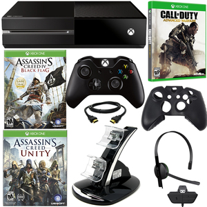 Microsoft XBOX One Assassin's Creed Holiday Bundle with Call of Duty Advanced Warfare & Accessories