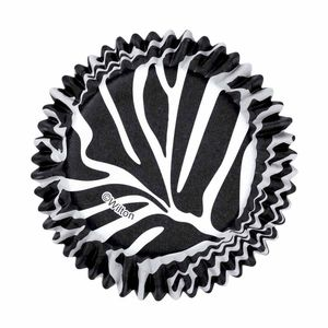 Wilton Baking Cup Zebra Standard 75 Count