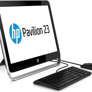 """HP Pavilion 23-g010 23"""" All in One Computer with AMD E2-3800 Processor & Windows 8.1"""
