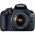 Canon 18.0-Megapixel EOS Rebel T5 Digital SLR Camera with 18-55mm Lens Black