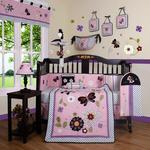 GEENNY Daisy Garden 13PCS Crib Bedding Set