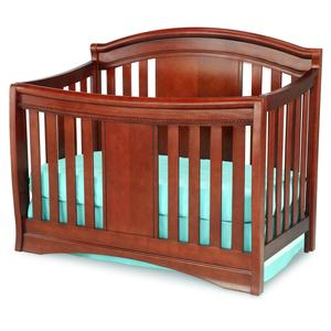 Delta Children Children's Elite 4-in-1 Crib - Cabernet