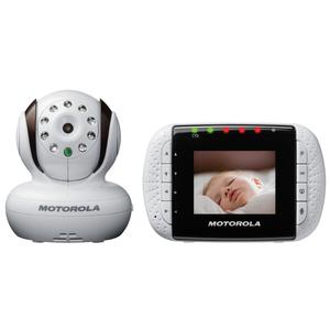 Motorola Digital Video Baby Monitor with 2.8 Inch Color LCD Screen - White
