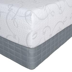 Serta Perfect Sleeper Viewcrest II Gel Memory Foam Queen Mattress Only