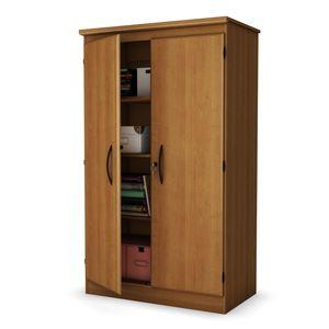 South Shore Morgan collection Storage Cabinet Morgan Cherry