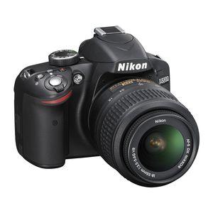 Nikon D3200 DSLR Kit - Black