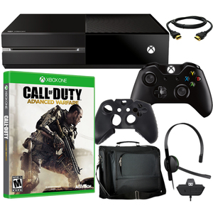 Microsoft Xbox One Console 500GB Bundle with COD Advanced Warfare & Accessories