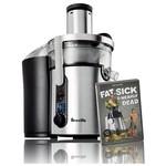 Breville ikon BJE510XL Multi-Speed Juice Fountain With Free Fat, Sick & Nearly Dead DVD