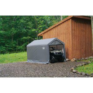 "ShelterLogic 6x10x6'6"" Shed in a Box - Grey"