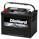 Diehard Automotive Battery- Group Size 34 (Price with Exchange)