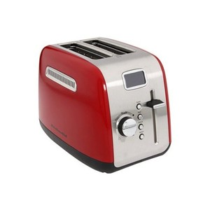 KitchenAid KMT222 2-Slice Digital Toaster Appliances Cookware - Empire Red