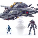 Mega Bloks Halo UNSC Broadsword Midnight Strike