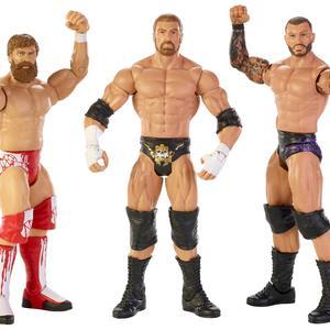 WWE Figure 3 Pack Daniel Bryan/Triple H/Randy Orton Kmart Exclusive
