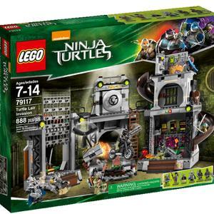 Lego Ninja Turtles TM Turtle Lair Invasion
