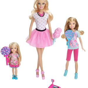 Barbie Sisters Trip to Candy Store Multi-pack