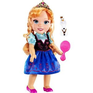 Disney Frozen Anna Toddler Doll with Olaf