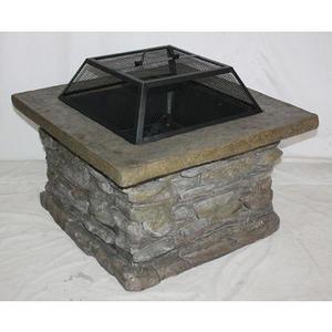Essential Garden Slate Rock Fire Pit