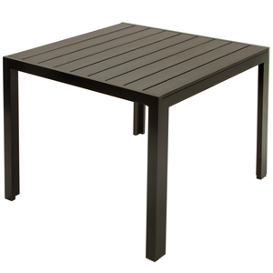 """Cosco Home and Office Products Outdoor 35.4"""" Resin Slat Dining Table"""