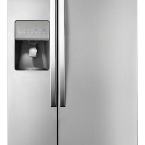 Whirlpool 21.0 cu. ft. Side-by-Side Refrigerator w/ Accu-Chill™ - Stainless Steel