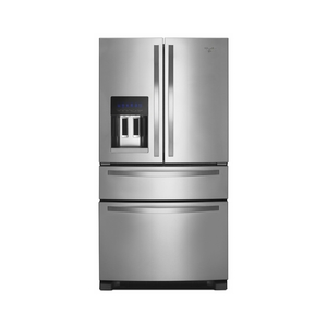 Whirlpool WRX735SDBM 25.0 cu. ft. French Door Refrigerator w/ Refrigerated Drawer - Stainless Steel