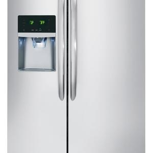 Frigidaire Gallery FGHS2655PF 25.5 cu. ft. Side-by-Side Refrigerator - Stainless Steel
