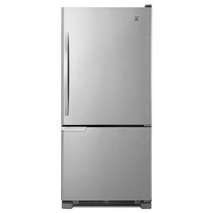 Kenmore 19 cu. ft. Bottom-Freezer Refrigerator - Stainless Steel