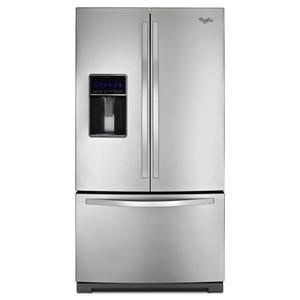 Whirlpool WRF736SDAM 25 cu. ft. French Door Refrigerator w/ MicroEdge Shelves - Stainless Steel