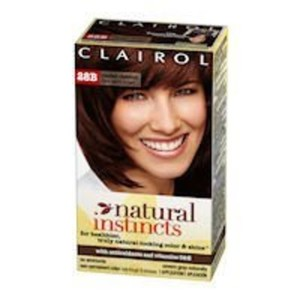 Clairol Natural Instincts, 028B, Roasted Chestnut, Dark Warm Brown