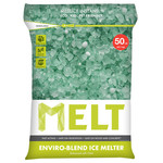MELT 50 Lb. Resealable Bag Premium Enviro-Blend Ice Melter w/ CMA – MELT50EB
