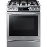 5.8 cu. ft. Slide-In Gas Range w/ Intuitive Controls - Stainless Steel