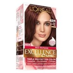 L'Oreal Paris Excellence Richesse Creme Hair Color, 4RM Dark Mahogany Red