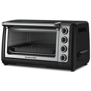 KitchenAid KCO111OB Countertop Oven, Onyx Black